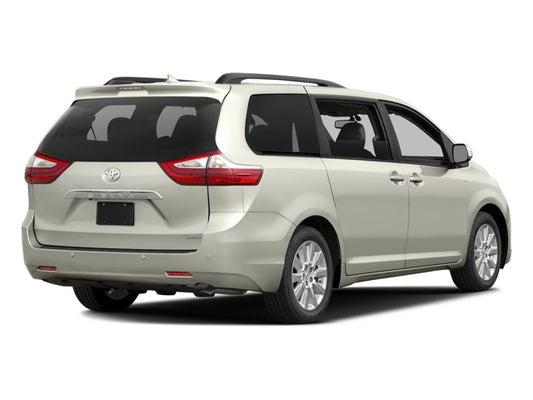 2017 Toyota Sienna Xle Premium >> 2017 Toyota Sienna Xle Premium