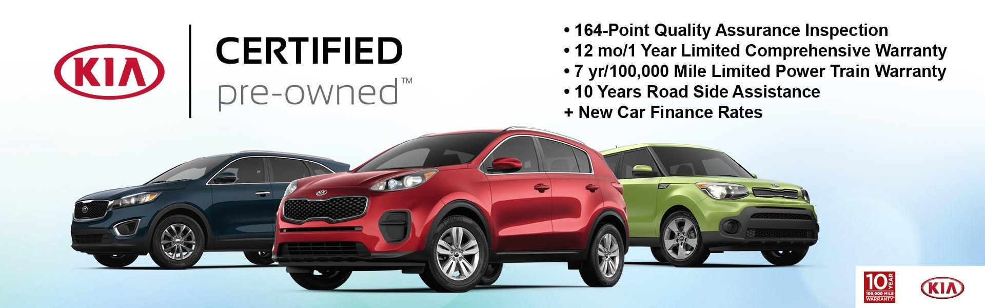 Kia Certified Pre Owned >> Certified Pre Owned Kia Cars Near Gurnee Il